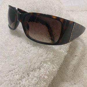 Fossil Tortoiseshell Rhinestone Sunglasses Sumi